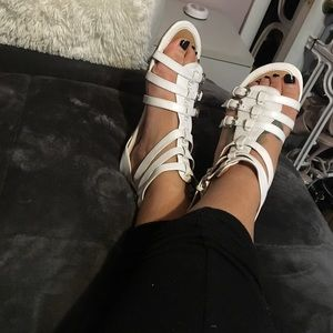 Shoes - Gladiator white scandals